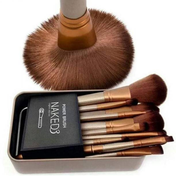 MYN real techniques makeup brush set with storage box