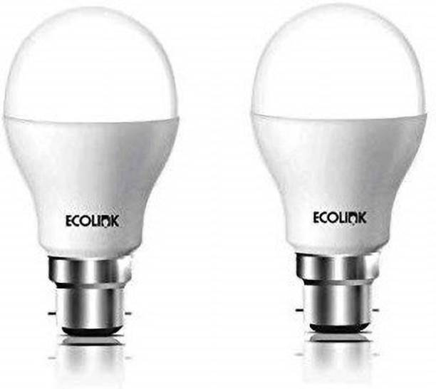 Ecolink by Philips 9 W Round B22 LED Bulb