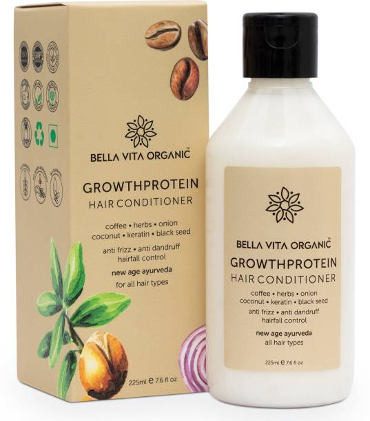 Bella vita organic Growth Protein Hair Fall Control Conditioner For Dry & Frizzy Hair