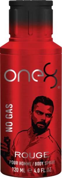 one8 by Virat Kohli No Gas Rouge Deodorant 120 ml - Men Perfume Body Spray  -  For Men