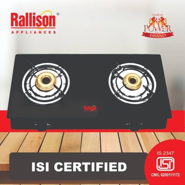 Rallison Appliances Glass Manual Gas Stove