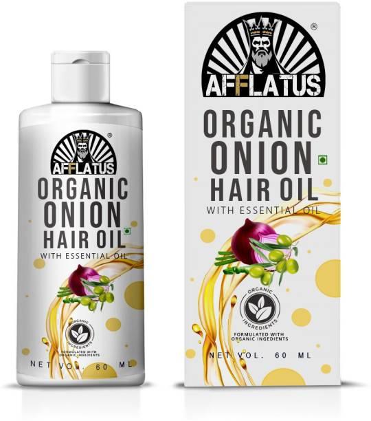 Afflatus Red Onion Hair Growth Oil With Black seed ( For Men & Women ), Onion Herbal Hair Oil for Hair Regrowth & Hair Fall Contro Hair Oil