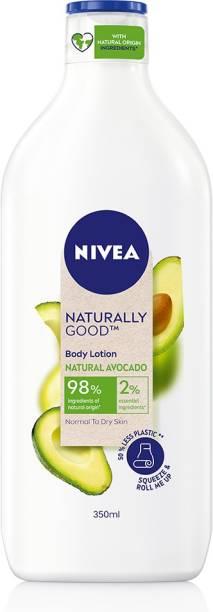 NIVEA Naturally Good Natural Avocado Body Lotion 350 ml