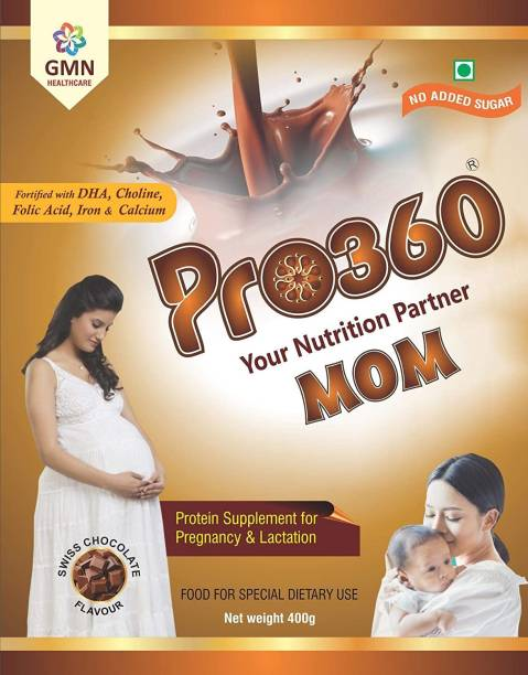 PRO360 MOM Pregnancy Protein Nutrition for Pregnant and Breastfeeding/Lactating Mothers Nutrition Drink