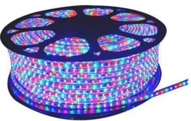 HKWEAVES 197 inch Multicolor Rice Lights