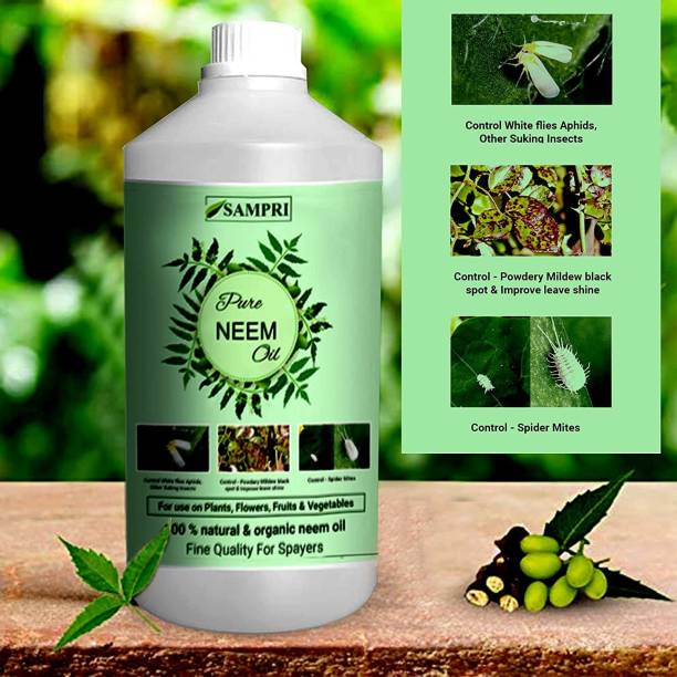 keekos Pure, Organic, Cold Pressed Neem Oil for Plant Pest Control and Water Soluble Soil