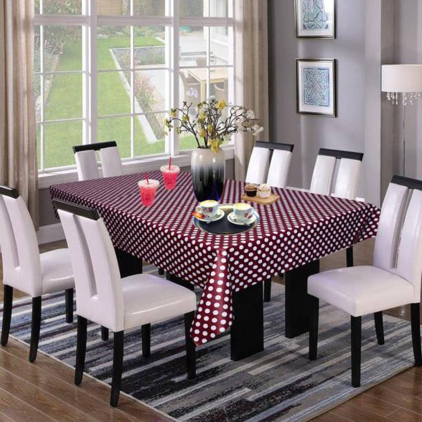KingMatters Polka 6 Seater Table Cover