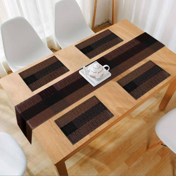HOKiPO Rectangular Pack of 5 Table Placemat