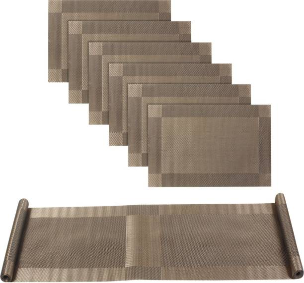 HOKiPO Rectangular Pack of 7 Table Placemat
