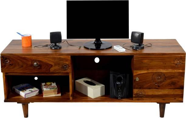 Flipkart Perfect Homes -TVC-DW Solid Wood TV Entertainment Unit