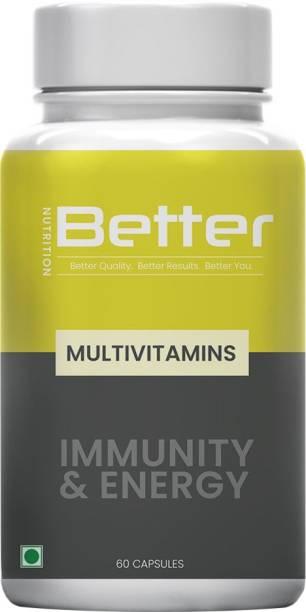 Better Nutrition Multivitamin with Biotin & Essential Minerals | Better Immunity | Better Health