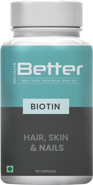 Better Nutrition Biotin 5000mcg for strong and healthy Hair and skin