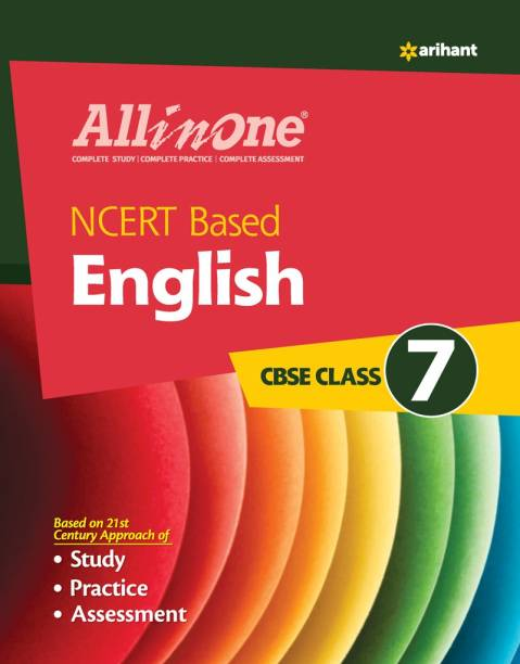 CBSE All in one NCERT Based English Class 7 for 2022 Exam (Updated edition for Term 1 and 2)