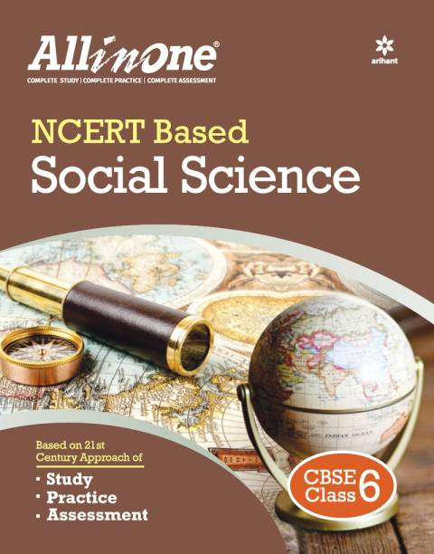 Cbse All in One Ncert Based Social Science Class 6 for 2022 Exam