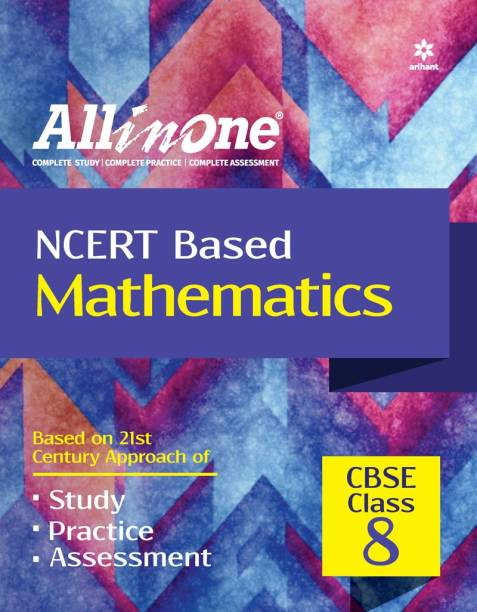 CBSE All In One NCERT Based Mathematics Class 8 for 2022 Exam (Updated edition for Term 1 and 2)