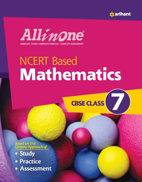 CBSE All In One NCERT Based Mathematics Class 7 for 2022 Exam (Updated edition for Term 1 and 2)