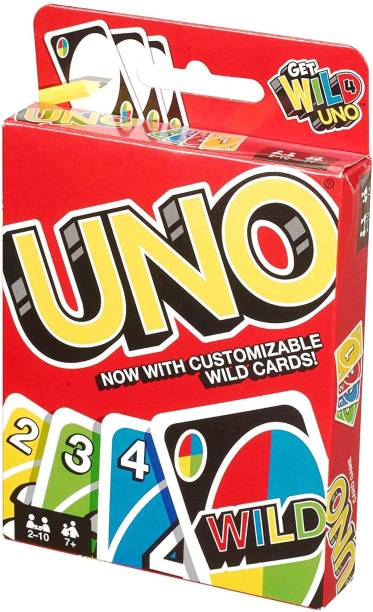 Gift Collection UNO FAMILY CARD GAME COMPLETE PACK OF 108 CARDS