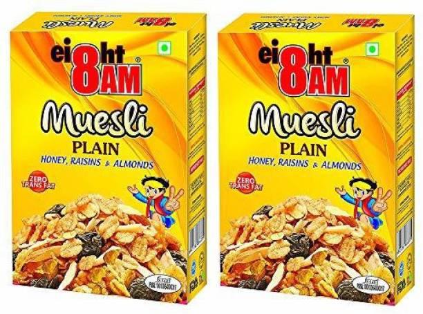 8AM by V. R. Industries (P) Ltd. Muesli Almond, Raisin & Honey