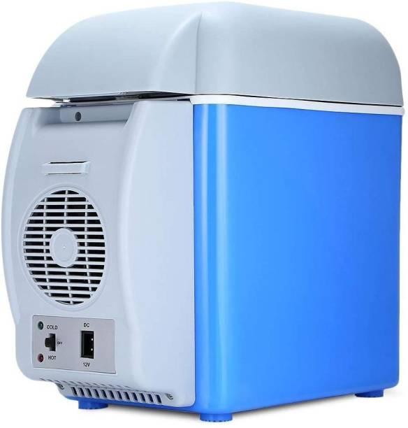 ROSAIRES 12V 7.5 L ABS Multi-Function Auto Car Mini Fridge Travel Refrigerator Home Cooler Freezer, Warmer for Travel Lover Mini Refrigerator 7.5 L Car Refrigerator