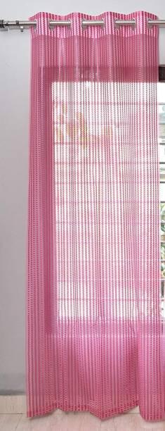 Vedartah 152 cm (5 ft) Net Window Curtain Single Curtain