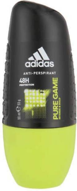 ADIDAS PURE GAME ANTI-PERSPIRANT DEODORANT ROLL ON IMPORTED Deodorant Roll-on  -  For Men & Women
