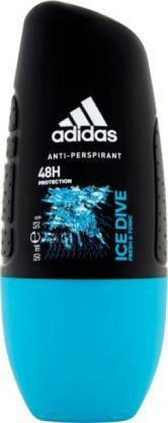 ADIDAS ICE DIVE ANTI-PERSPIRANT DEODORANT ROLL ON IMPORTED Deodorant Roll-on  -  For Men & Women