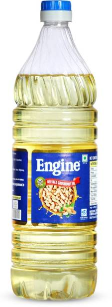 Engine Refined Peanut (Groundnut) Oil - 1 Liter Bottle Groundnut Oil PET Bottle