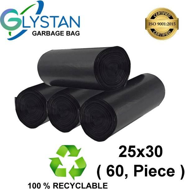 GLYSTAN GARBAGE BAG 25*30 (60 BAG) Large 20 L Garbage Bag