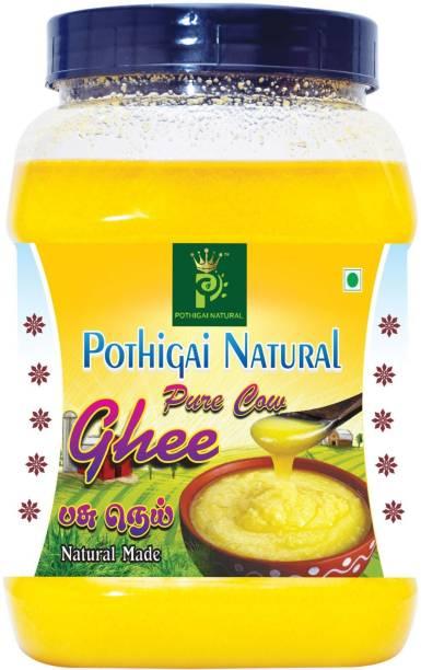 POTHIGAI NATURAL 100% PURE NATURAL COW GHEE 1000ML Plastic Bottle Ghee 1000 ml Plastic Bottle