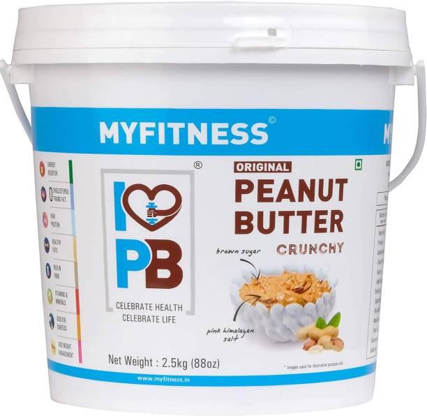 MYFITNESS Original Peanut Butter Crunchy 2500 g