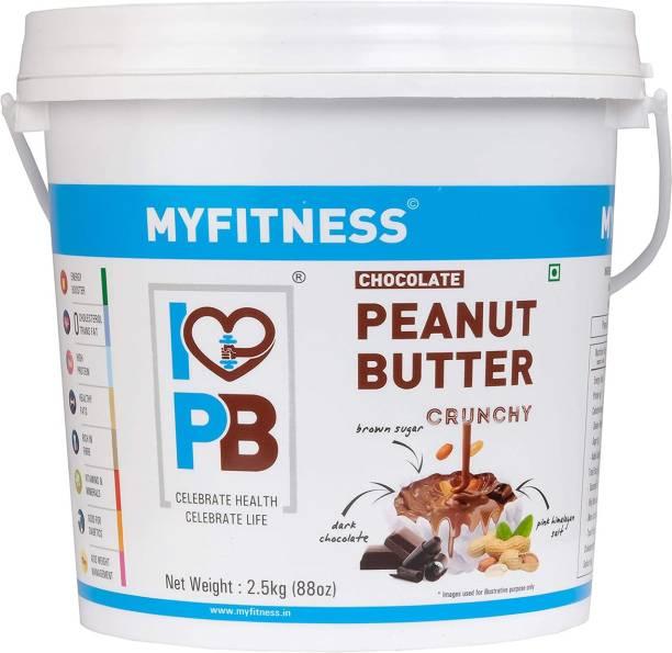 MYFITNESS Chocolate Peanut Butter crunchy 2500 g