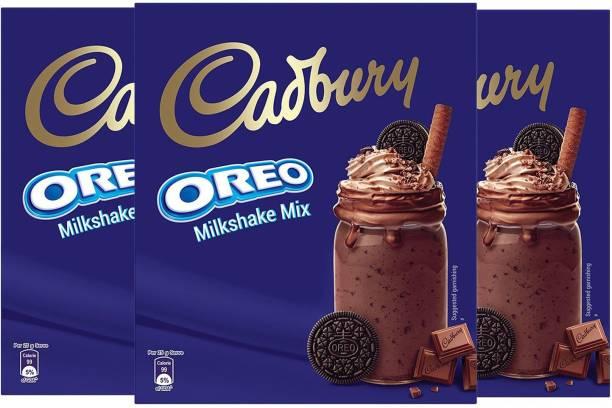 Cadbury Oreo Milkshake Mix (200 g) Pack of 3