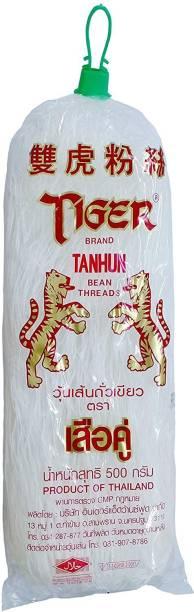 Tiger Instant Noodles Vegetarian Tanhun Mung Bean Threads, 500g Instant Noodles Vegetarian