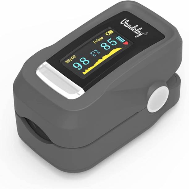 Vandelay SpO2 Pulse Oximeter Fingertip - Blood Oxygen Meter SpO2 & Pulse Monitor - FDA, CE Pulse Oximeter