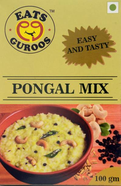 Eats Guroos Pongal Mix- Pack of 4 (100gm) 400 g