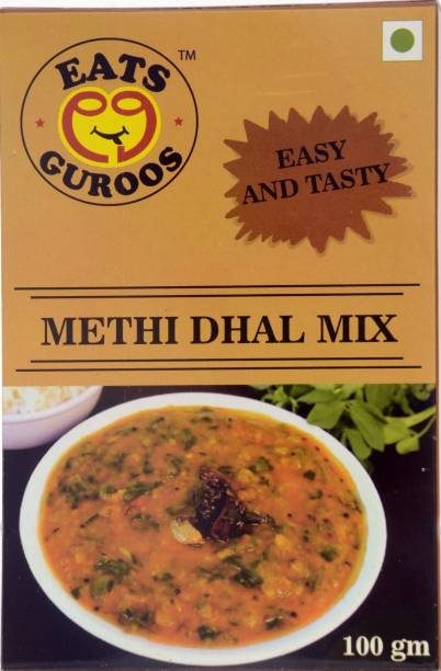 Eats Guroos Methi Dhal Mix-Pack of 4 (100gm) 400 g