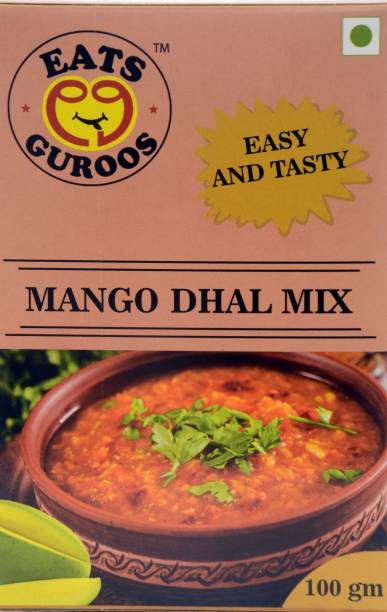 Eats Guroos Mango Dhal Mix-Pack of 4 (100gm) 400 g