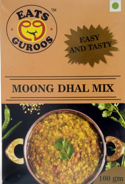 Eats Guroos Moong Dhal Mix- Pack of 4 (100gm) 400 g