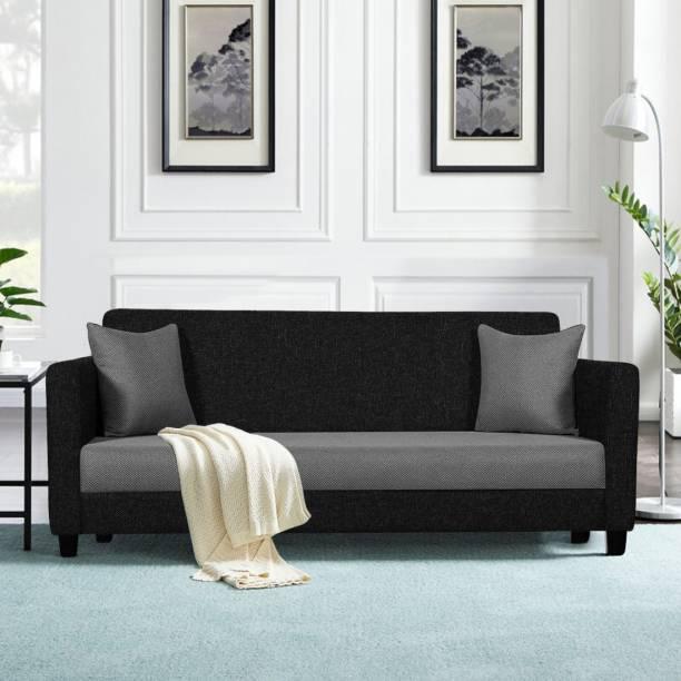 TREVI Riya Fabric 3 Seater  Sofa