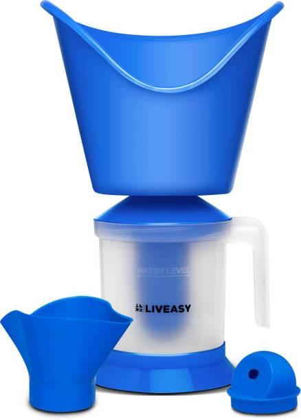 LivEasy PharmEasy 3 In 1 Steam Vaporizer - Inhaler Vaporizer for Cough, Cold, Nose vaporizer & Face Steamer Vaporizer