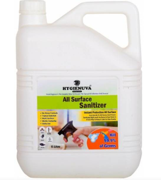 Hygienuva Multipurpose Surface Sanitizer For All Type of Surface Sanitizer Refill Pack Ideal For All Surfaces