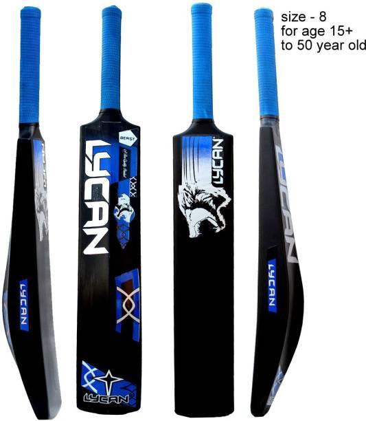 LYCAN Full Size PVC/Plastic Cricket  Bat