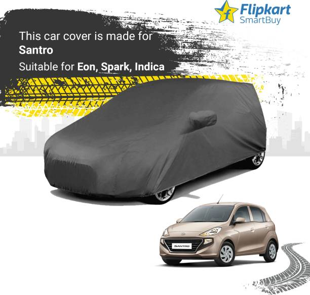 Flipkart SmartBuy Car Cover For Hyundai Santro Xing (With Mirror Pockets)