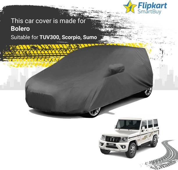 Flipkart SmartBuy Car Cover For Mahindra Bolero (With Mirror Pockets)