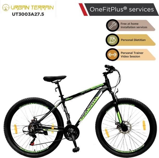 Urban Terrain UT3003A27.5 Alloy MTB with 21 Shimano Gear and Installation services 27.5 T Mountain/Hardtail Cycle
