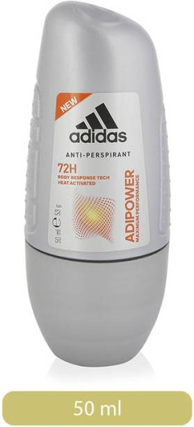 ADIDAS ADIPOWER ANTI-PERSPIRANT DEODORANT ROLL ON IMPORTED Deodorant Roll-on  -  For Men
