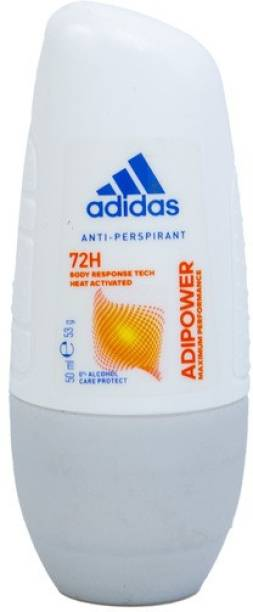 ADIDAS ADIPOWER ANTI-PERSPIRANT DEODORANT ROLL ON IMPORTED Deodorant Roll-on  -  For Women