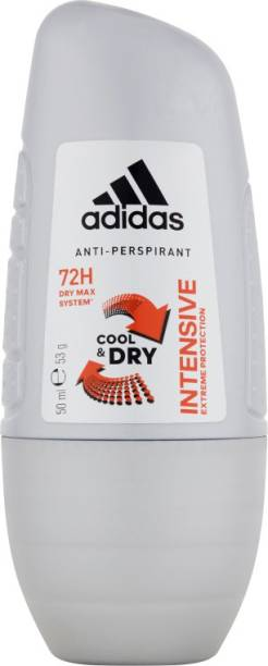 ADIDAS INTENSIVE ANTI-PERSPIRANT DEODORANT ROLL ON IMPORTED Deodorant Roll-on  -  For Men