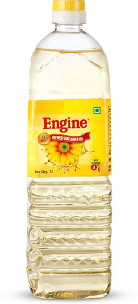 Engine Refined Sunflower Oil - 1 Liter Bottle Sunflower Oil PET Bottle