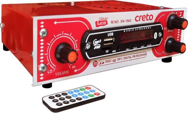 CRETO XN-1963 USB Fm/Mp3 Multimedia Player with Bluetooth & Remote Supports SD Card & AUX FM Radio